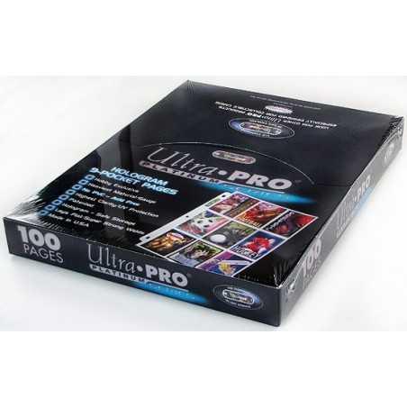Platinum Series 9 bolsillos Páginas para album 100 unidades