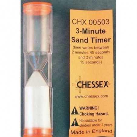 Reloj de arena de tres minutos