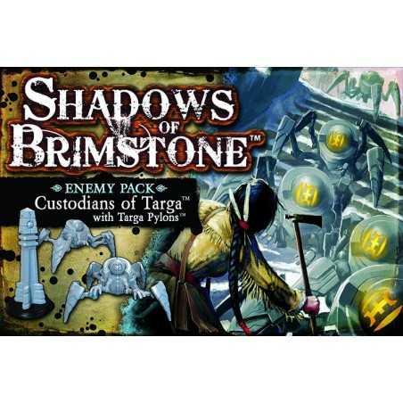 Custodians of Targa with Targa Pylons Shadows of Brimstone expansion