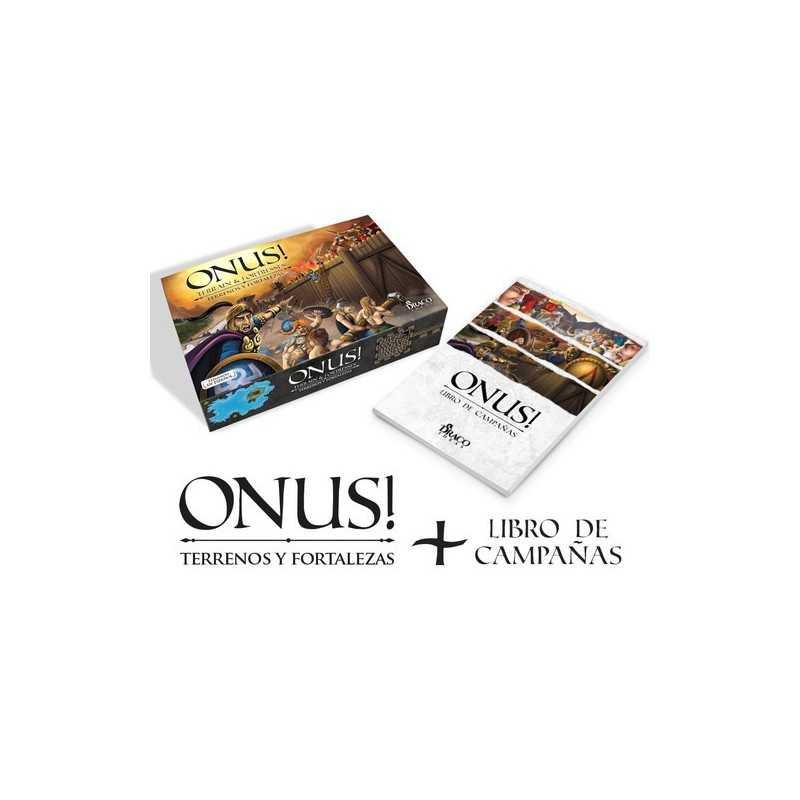 Onus Expansión Terrenos y fortalezas + Libro de campaña