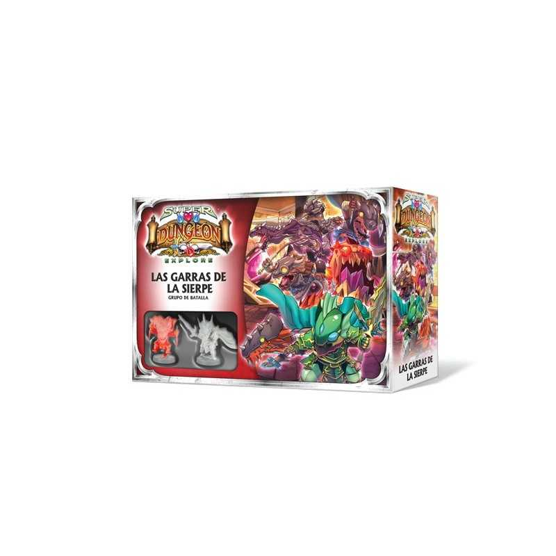 Las Garras de la Sierpe Super Dungeon Explore