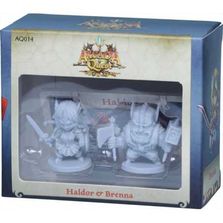Arcadia Quest Haldor y Brenna