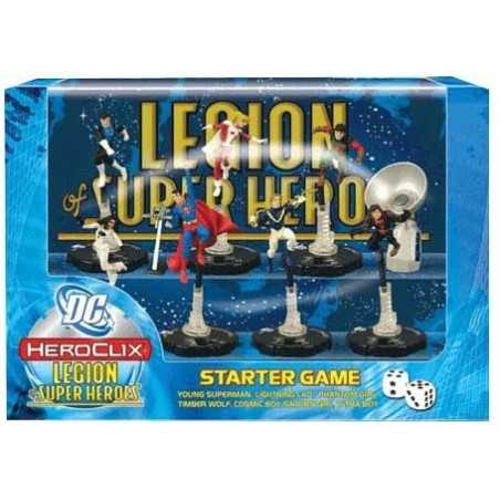 DC HeroClix Legion of Super Heroes starter set