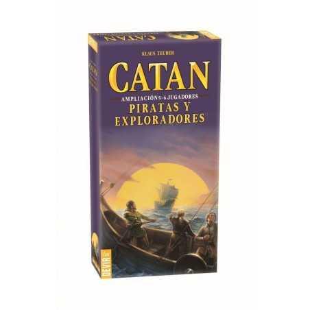 Catan Piratas y exploradores 5-6 jugadores