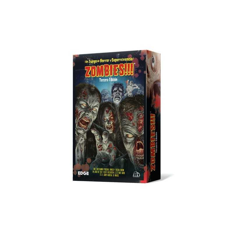 Comprar Zombies Tercera Edicion Juego De Mesa Edge
