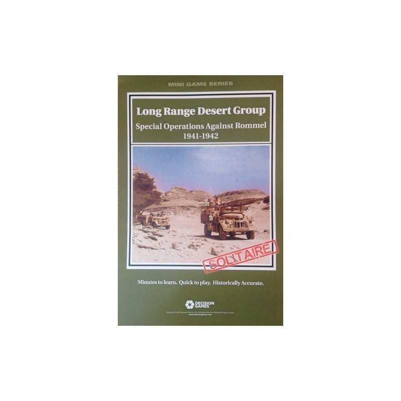 Long Range Desert Group: Special Operations Against Rommel