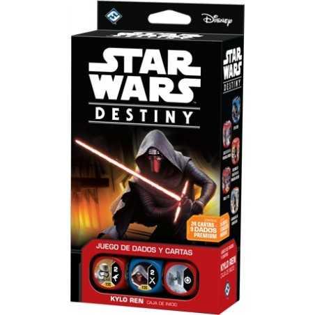 Star Wars: Destiny CAJA DE INICIO KYLO REN
