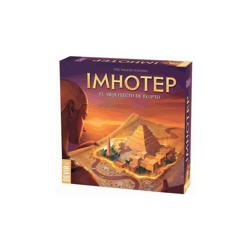 Imhotep El constructor de Egipto