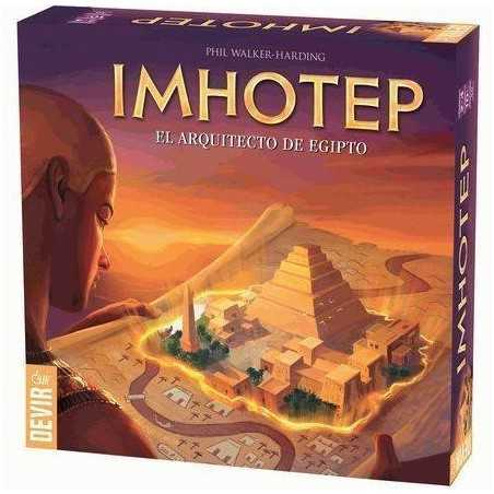 Imhotep El constructor de Egipto