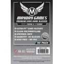 70 x 110 mm Mayday PREMIUM sleeves silver 50 units