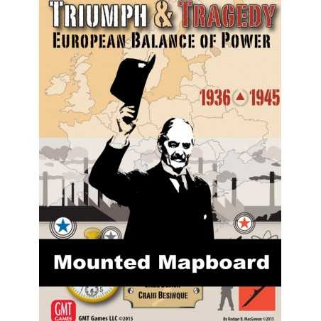 Triumph and Tragedy MOUNTED MAP