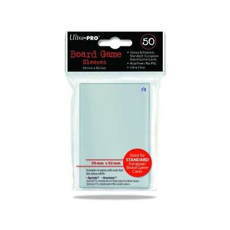 59 X 92 ULTRA PRO EUROPEAN SIZE Card Sleeves