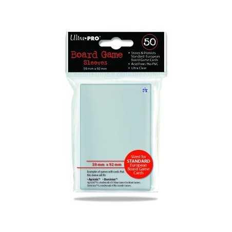 59 X 92 ULTRA PRO EUROPEAN SIZE Card Sleeves