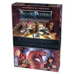 Legado Perdido 3 El Grial Sagrado y El Báculo de Dragones