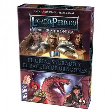 Legado Perdido 3 El Grial Sagrado y El Báculo de Dragones