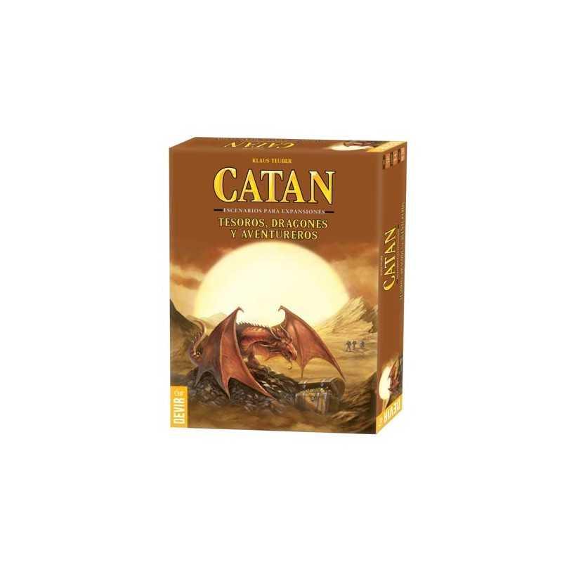 Tesoros, dragones y aventureros Escenarios expansiones Catan