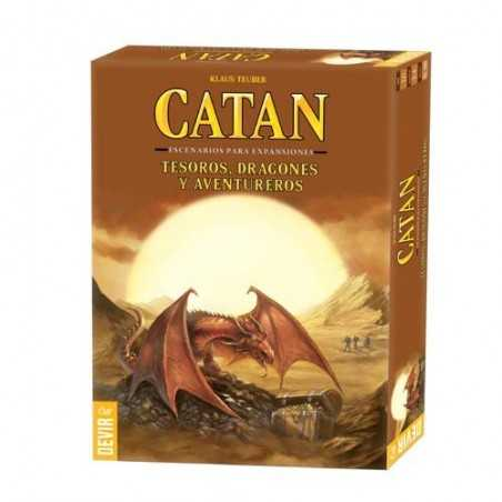 Tesoros, dragones y aventureros Escenarios expansiones Catan