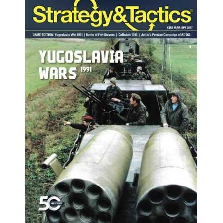 Strategy & Tactics 303 War Returns to Europe: Yugoslavia 1991