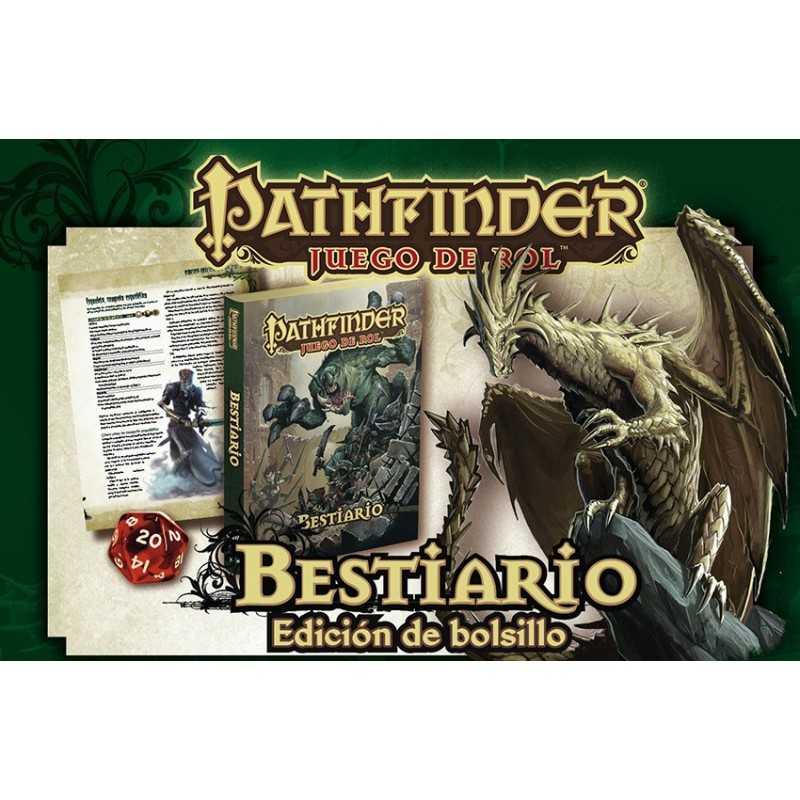 Pathfinder Bestiario Edición de BOLSILLO