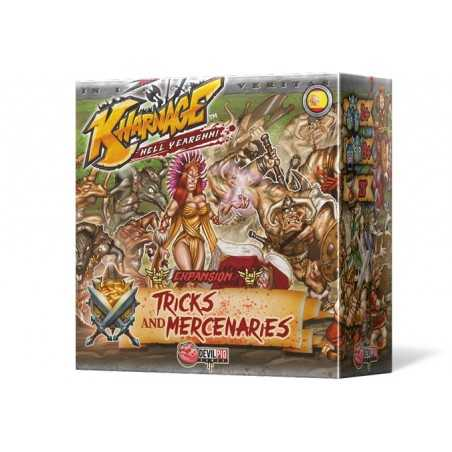 Tricks and Mercenaries Expansión Kharnage
