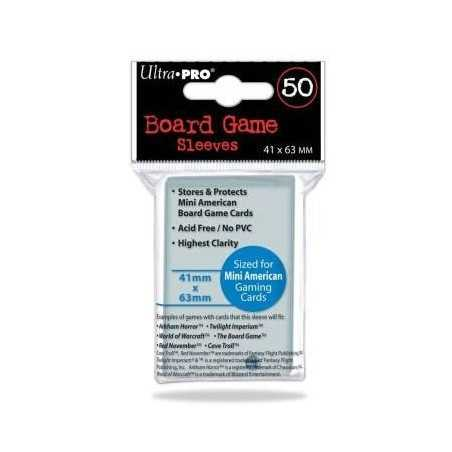 41 X 63 mm ULTRA PRO SLEEVES USA MINI (50u)