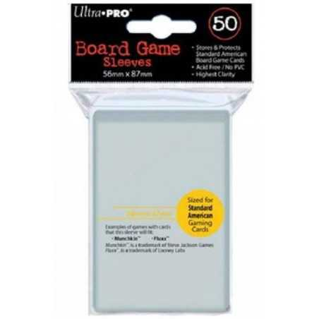 56 X 87 mm ULTRA PRO SLEEVES USA (50u)