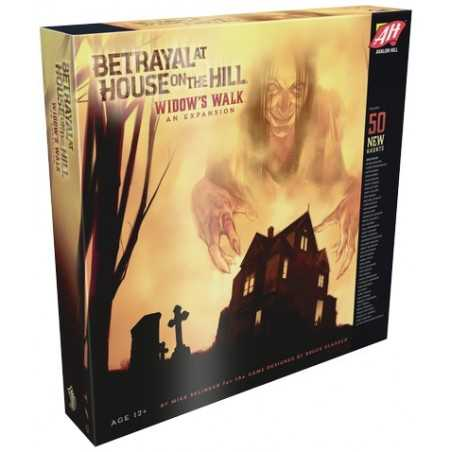 Widow's Walk Betrayal at House on the Hill expansion