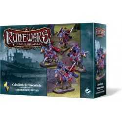 Caballería juramentada Runewars El Juego de Miniaturas