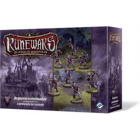 Arqueros reanimados Runewars El juego de miniaturas