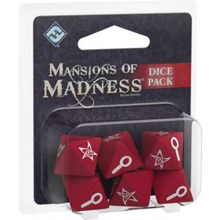 Set de dados Las Mansiones de la Locura