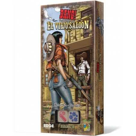 El viejo saloon Bang! El juego de dados