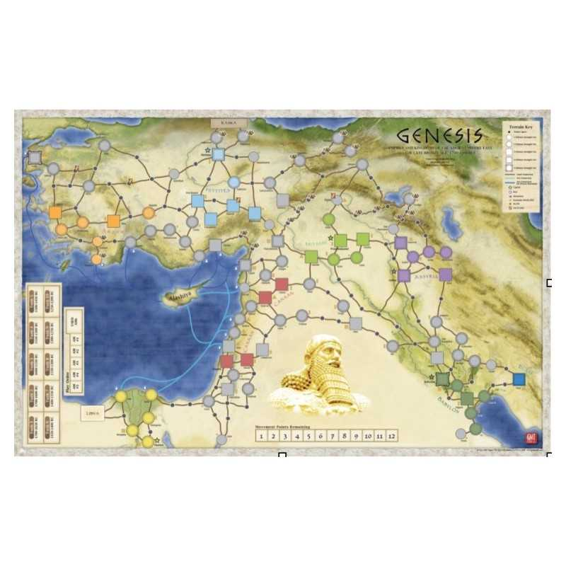 Genesis MOUNTED MAP