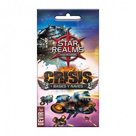 Star Realms Crisis BASES Y NAVES - DEVIR
