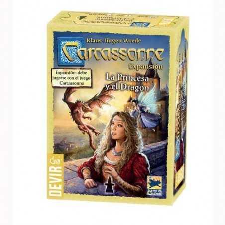 Carcassonne La princesa y el Dragon nueva edición