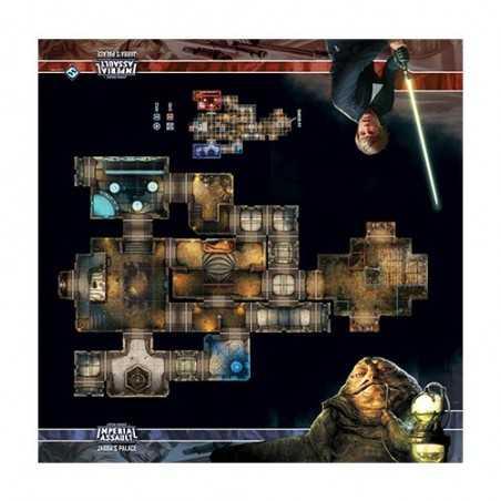 Tablero de Escaramuza del palacio de Jabba Imperial Assault