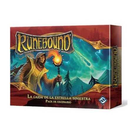 La caída de la estrella siniestra Runebound Tercera Edición