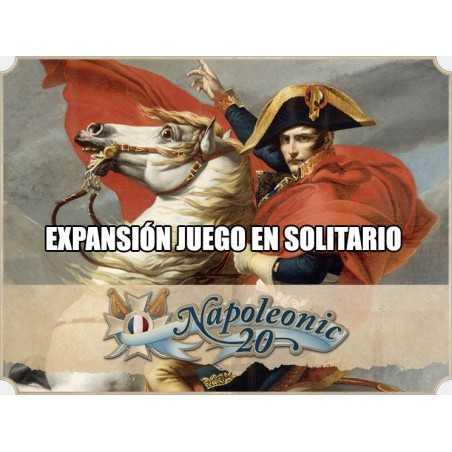 España 20 expansión juego en solitario