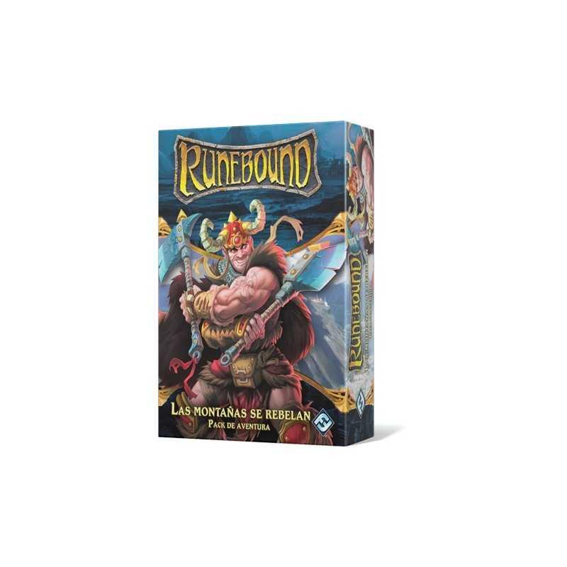 Las montañas se rebelan Runebound Tercera Edición