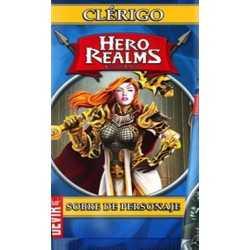 Clérigo Hero Realms sobre de personaje