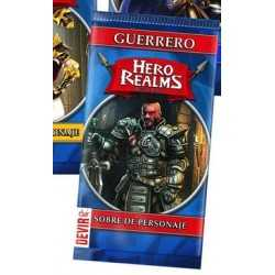 Guerrero Hero Realms sobre de personaje