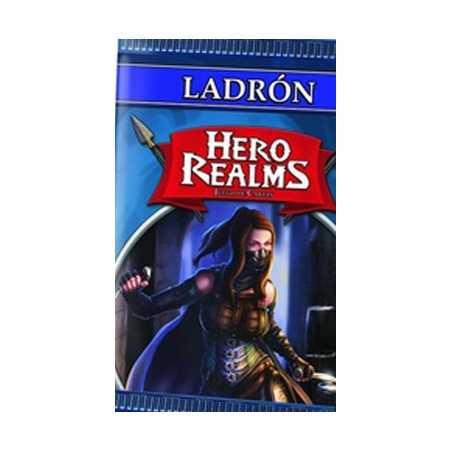 Ladrón Hero Realms sobre de personaje