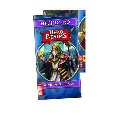 Hechicero Hero Realms sobre de personaje