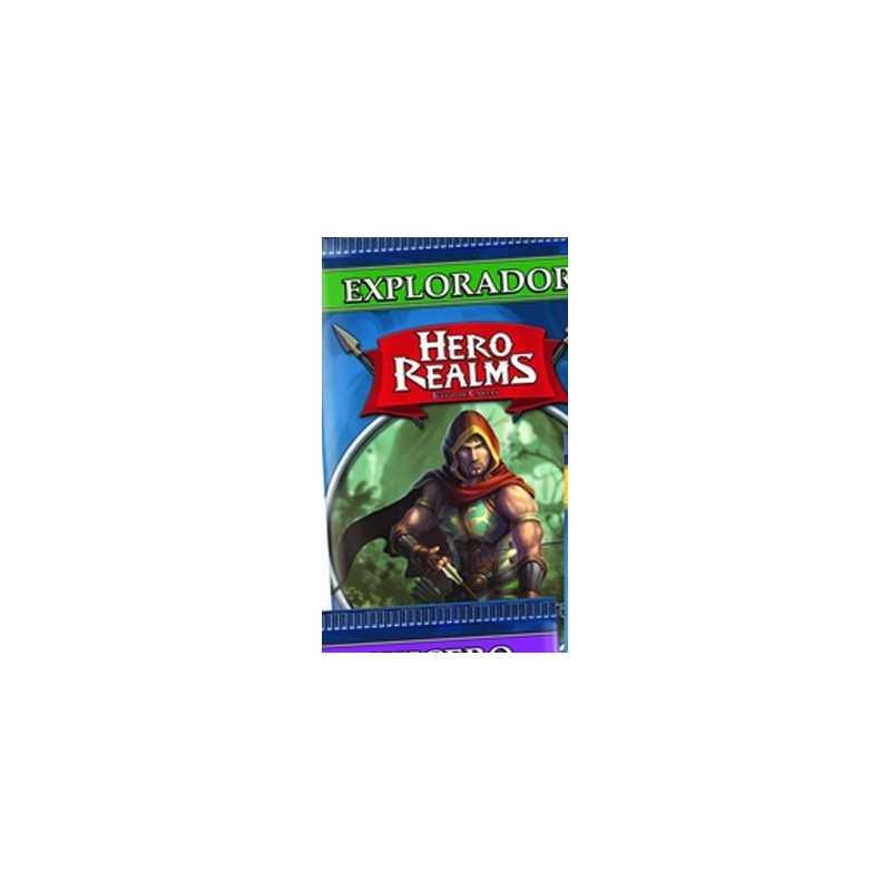 Explorador Hero Realms sobre de personaje