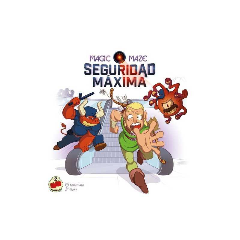 Magic Maze SEGURIDAD MÁXIMA expansión