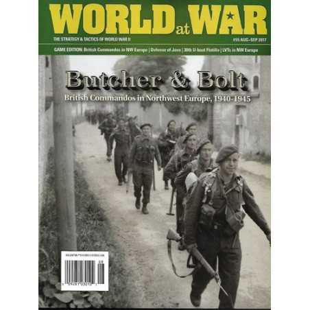 World at War 55 Commandos Europa