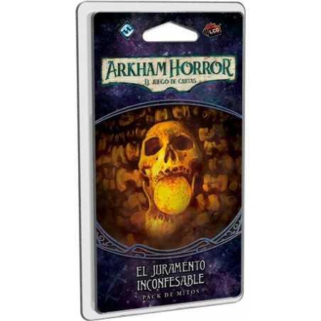 El juramento inconfesable camino a Carcosa Arkham Horror el juego de cartas