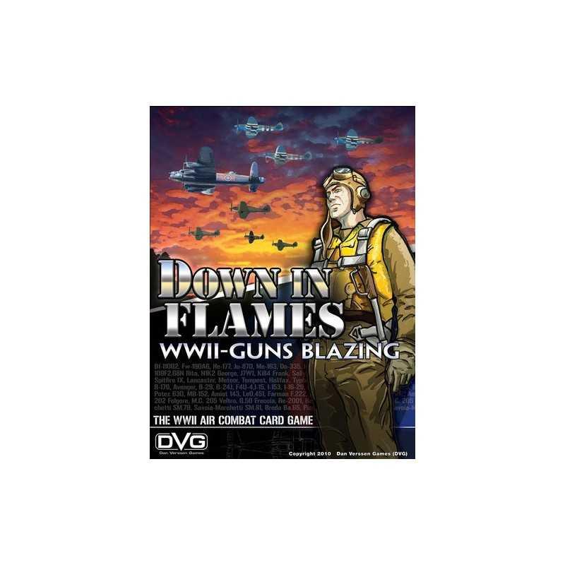 Down in Flames WWII Guns Blazing
