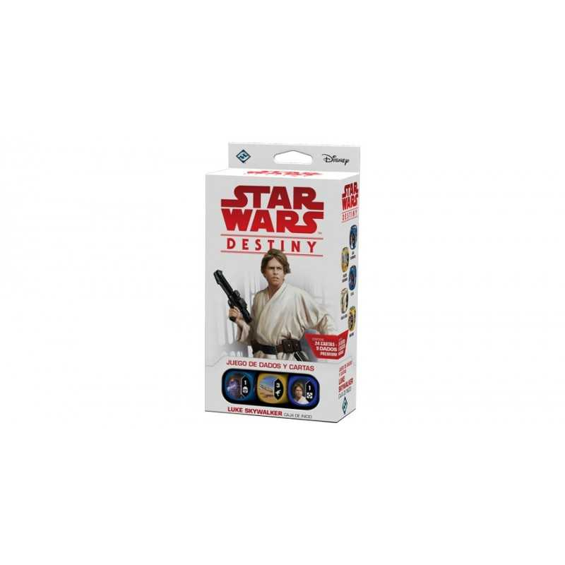 Luke Skywalker Star Wars Destiny Caja de inicio