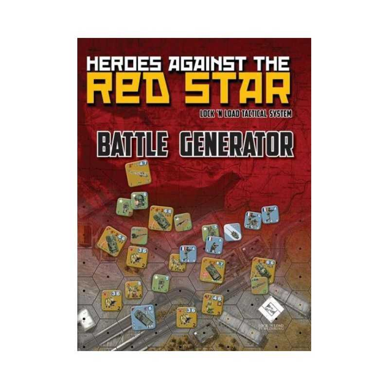 Heroes Against the Red Star BATTLE GENERATOR Lock 'n Load Tactical