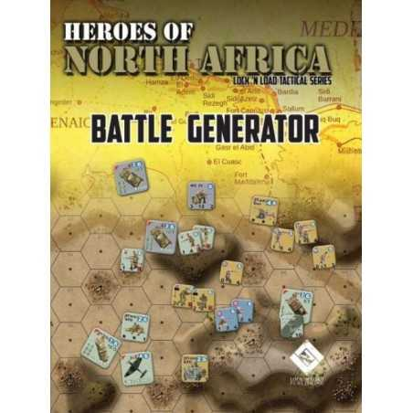 Heroes of North Africa BATTLE GENERATOR Lock 'n Load Tactical